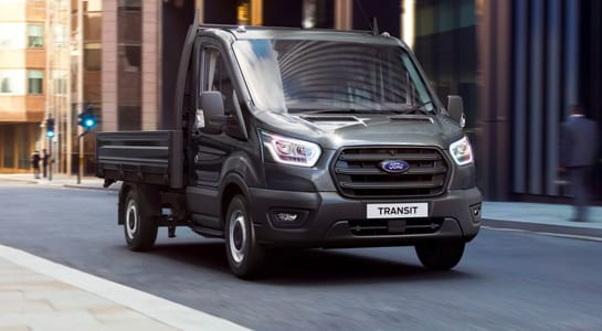 ford comerciales chasis