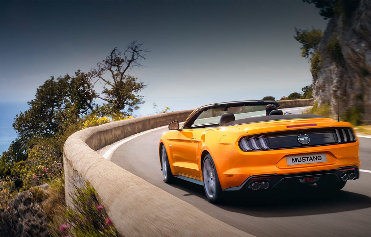 ford mustang caracteristicas