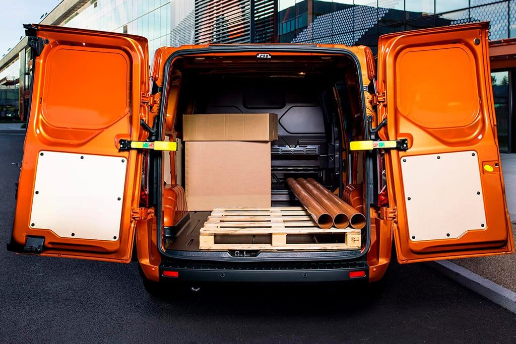 ford transit custom carga