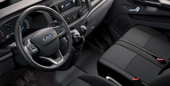 ford transit custom km0 asientos