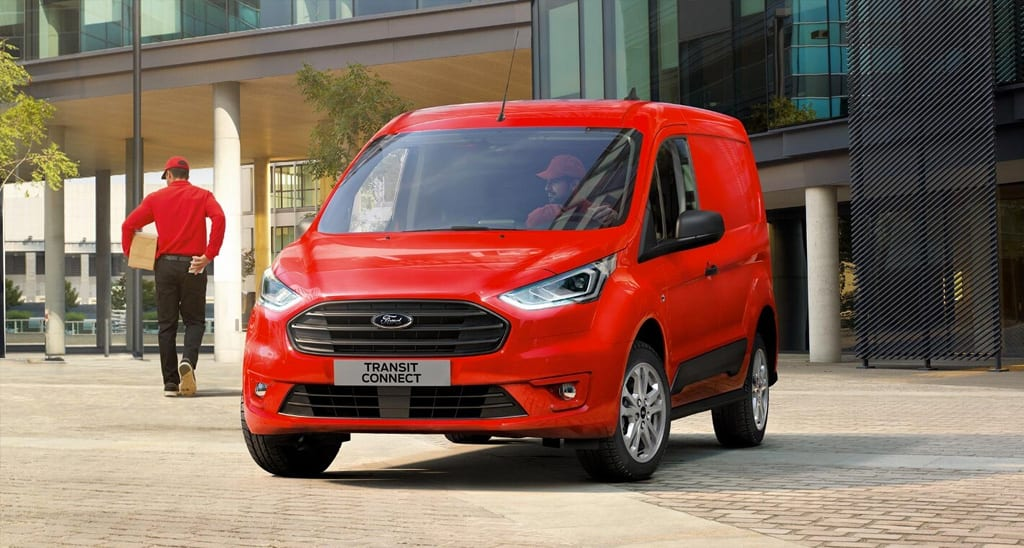 ford transit connect diseño