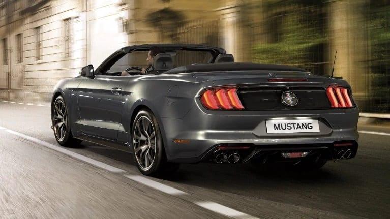 Ford Mustang vision trasera
