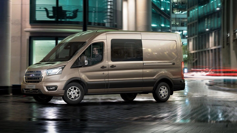 Ford Transit Van medidas