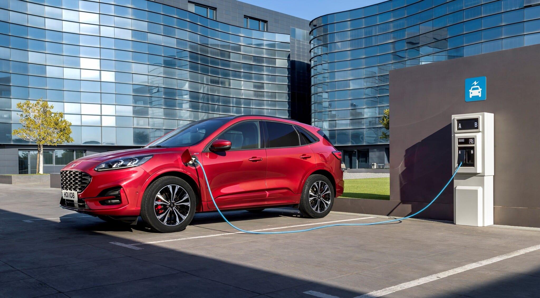 autonomía coche eléctrico ford kuga